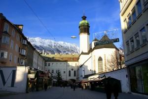 Достопримечательности Инсбрука (Innsbruck): что посмотреть, путеводитель по Инсбруку и городам Австрии, фото, туристический маршрут от SelfGuide.ru free travel guide бесплатно путеводитель скачать Инсбрук Австрия города Австрии Европа