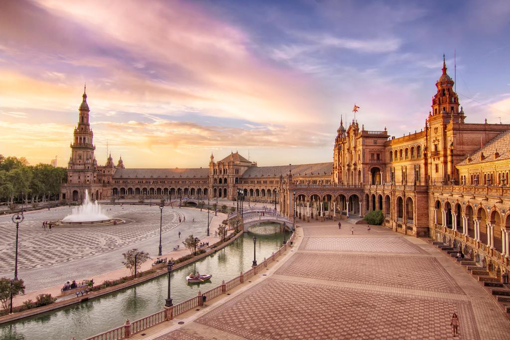 Площадь Испании (Plaza de España) Севилья