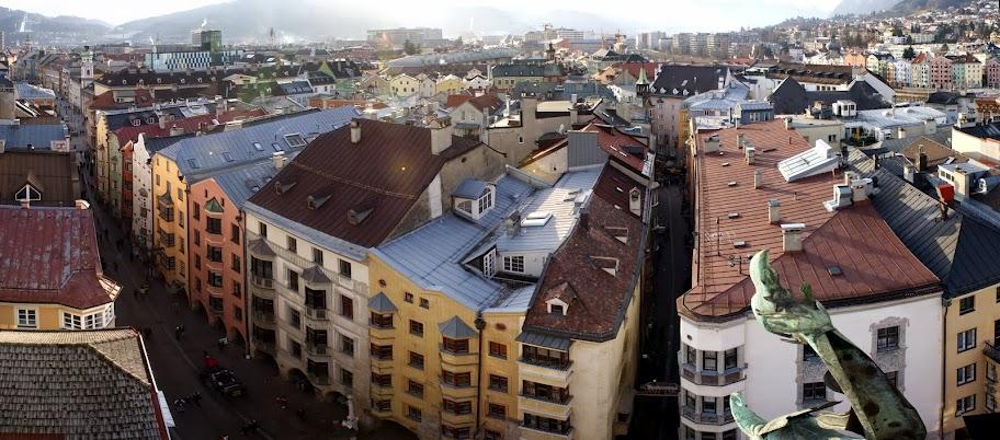 Панорамные площадки в Инсбруке