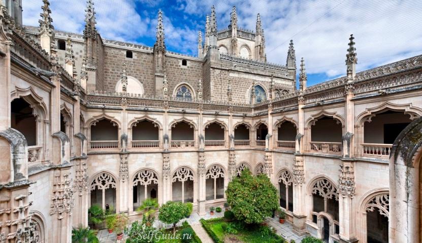 toledo-san-juan-de-los-reyes-spain Толедо (Toledo), Испания - достопримечательности, путеводитель, туристический маршрут по городу с картой, что посмотреть в Толедо