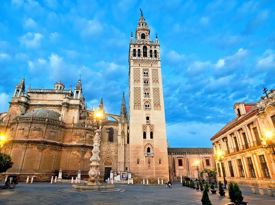 Башня Жиральда в Севилье - достопримечательности Севильи, что посмотреть в Севилье, путеводитель по Севилье