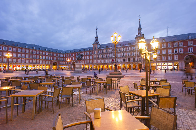 Туристический маршрут по Мадриду вокруг Plaza Mayor