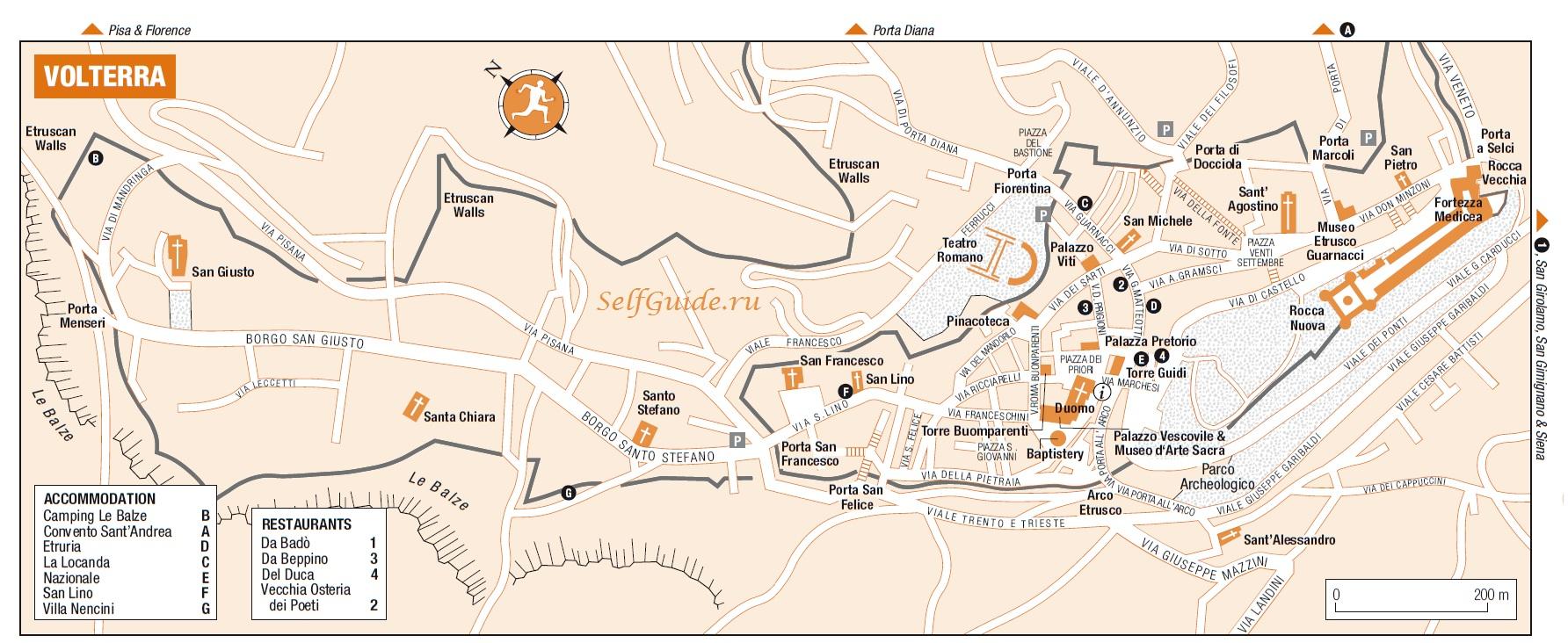 Карта Вольтерры (Volterra):
