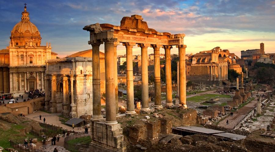 Маршрут по Риму: Античный Рим