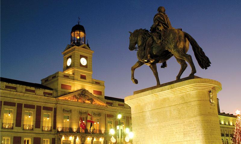 Туристический маршрут по Мадриду:  Puerta del Sol, Alcalá & Huertas