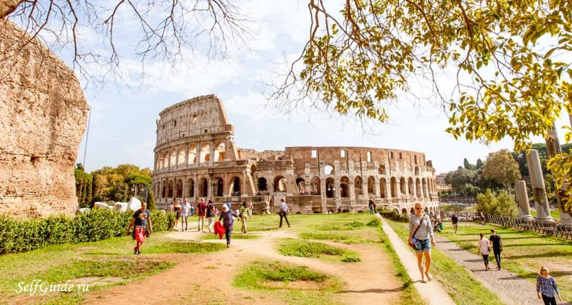 Колизей (Colosseo) - главная достопримечательность Рима, Италия, колизей в Риме, римский колизей, Рим Колизей