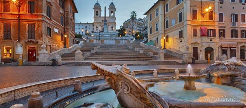 фотографии рима - испанская лестница в Риме