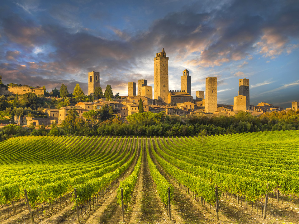 Сан-Джиминьяно (San Gimignano), Тоскана
