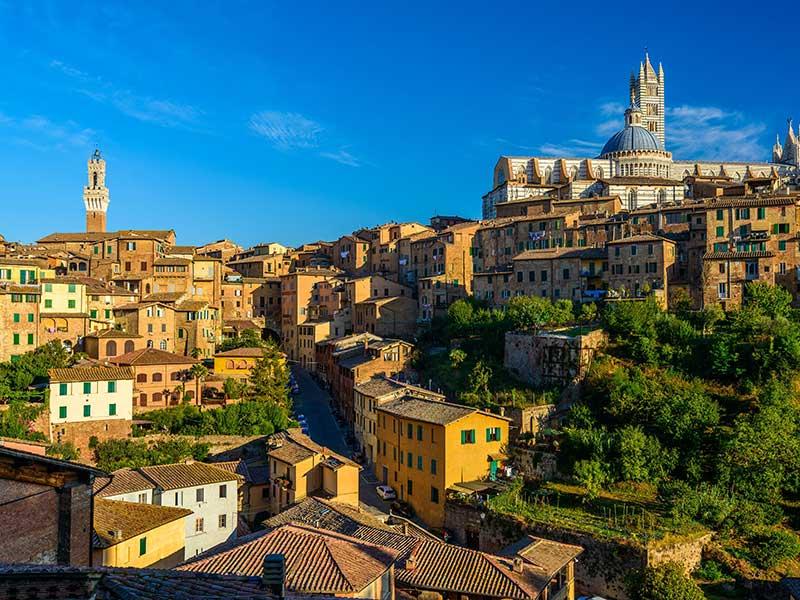 Сориентироваться в Сиене - Сиена, Италия - путеводитель по городу