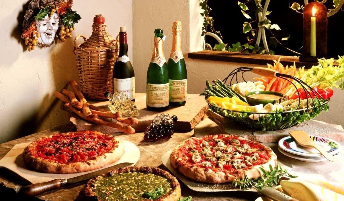 Итальянская кухня — традиционные блюда Италии