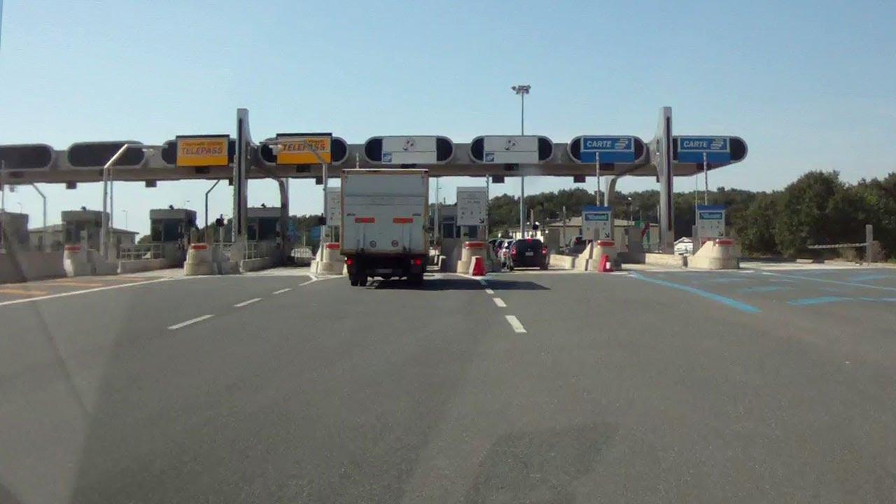 Платные дороги в Италии