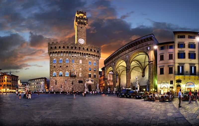 Площадь Синьории (Piazza della Signoria) во Флоренции