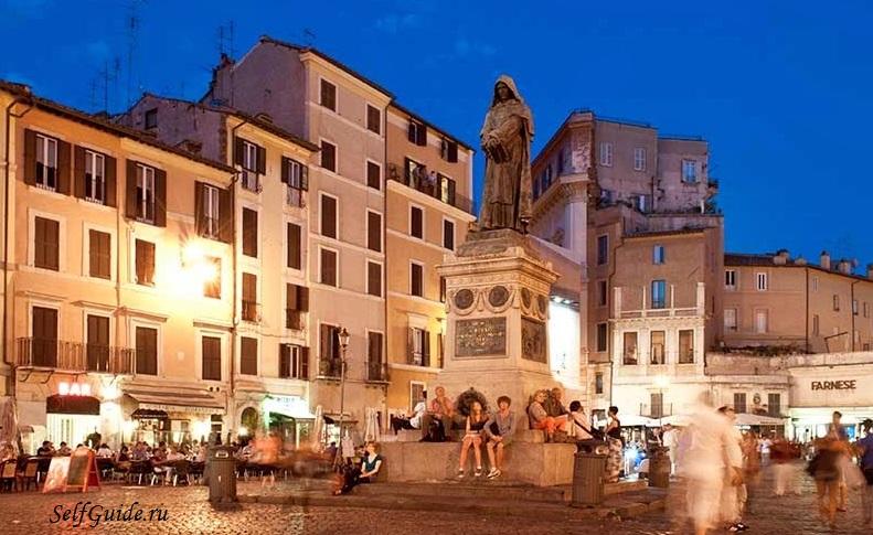 Маршрут по Риму: Кампо де Фьори и Еврейское гетто