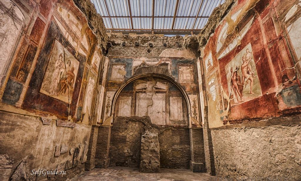 Геркуланум (Herculaneum), вокруг Неаполя